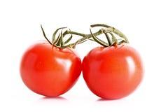 2 изолированного томата Стоковая Фотография