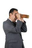 2 изумлённого взгляда пива Стоковая Фотография RF