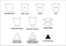 2 иконы одежд Стоковая Фотография