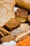 2 ингридиента хлеба вертикального Стоковые Фото