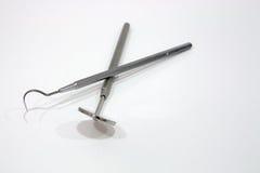 2 инструмента дантиста Стоковые Фотографии RF