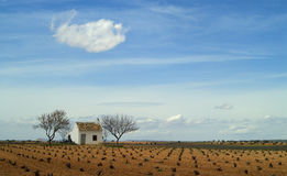 2 испанского языка ландшафта стоковое фото