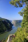 2 каньон danube Стоковые Изображения