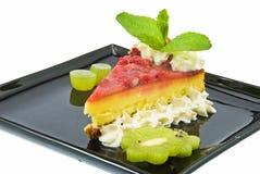 2 клубники десерта Стоковая Фотография RF