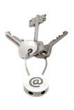 2 ключа электронной почты Стоковая Фотография RF