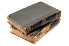 2 книги старой Стоковое Фото