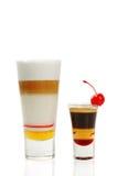 2 коктеила кофе Стоковое Изображение RF