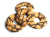 2 кольца печенья Стоковое фото RF