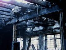 2, котор сгорели вниз Стоковое Изображение