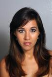 2 красивейшее headshot latina Стоковое Изображение
