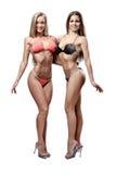 2 красивейших атлетических девушки Стоковая Фотография