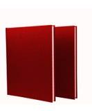 2 красных изолированного блокнота Стоковые Фотографии RF