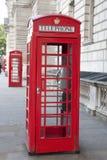 2 красных переговорной будки, Лондон Стоковое Изображение RF