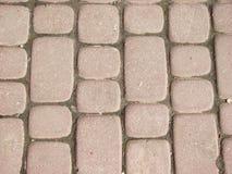 2 красных плитки улицы Стоковое Изображение RF