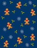 2 люд gingerbread tileable Стоковые Фото