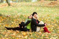 2 молодой женщины Стоковая Фотография RF