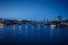 2 мост london waterloo Стоковая Фотография RF
