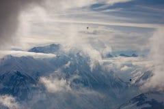2 над ледником Стоковая Фотография