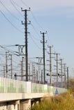 2 отсутствие железной дороги Стоковая Фотография RF