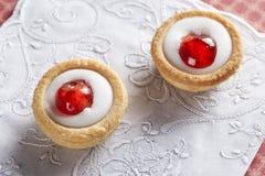 2 печенья Bakewell Стоковые Изображения