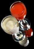 2 питья съемки Стоковые Изображения RF