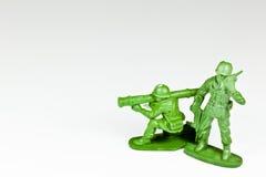 2 пластичных воина игрушки Стоковые Фото