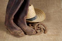 2 подковы шлема ботинок Стоковые Изображения RF