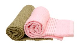 2 полотенца Стоковые Фото