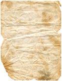 2 постарели включенный бумажный путь Стоковая Фотография RF