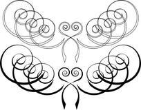 2 по мере того как цветы делают по образцу желание переченя установленное вы Стоковое Изображение