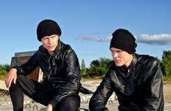 2 преступника Стоковая Фотография RF