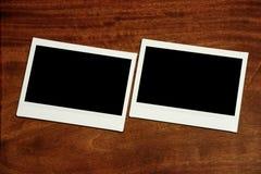 2 пустых рамки фото Стоковые Фотографии RF
