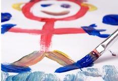 2 рисуя Стоковая Фотография RF