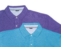2 рубашки поло (горизонтальной) Стоковое Изображение