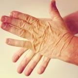 2 руки Стоковые Изображения RF