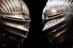 2 рыцаря Стоковые Фото