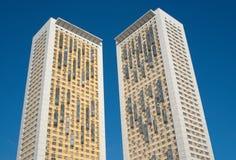 2 самомоднейших высоких селитебных здания Стоковая Фотография RF