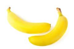 2 свежих банана Стоковое Фото