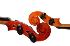 2 скрипки Стоковое фото RF