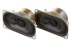 2 старых громких диктора Стоковое фото RF