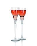 2 стекла вина Стоковые Фотографии RF