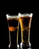 2 стекла пива Стоковая Фотография RF
