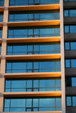 2 строя окна Стоковые Фото