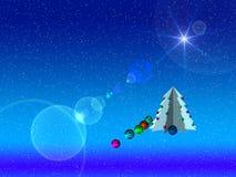 2 счастливых Новый Год иллюстрации Стоковое Изображение RF