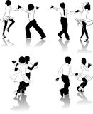 2 танцора молодого Стоковые Фотографии RF