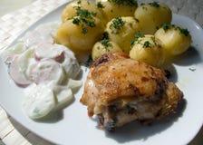 2 традиционного тарелки польских Стоковое Изображение