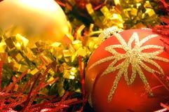 2 украшения рождества Стоковое Изображение RF