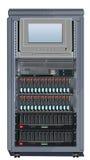2 установленный шкафами сервер шкафа Бесплатная Иллюстрация