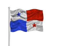 2 флаг Панама Стоковая Фотография RF