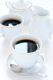 2 чашки кофе Стоковые Изображения RF